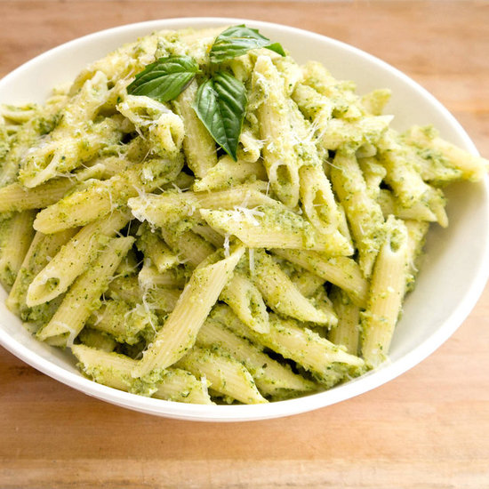 http://www.popsugar.com/moms/Nut-Free-Broccoli-Pesto-Pasta-25298015