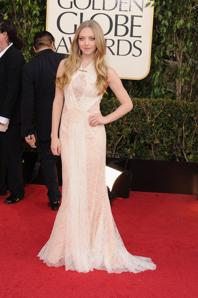 Amanda Seyfried in Givenchy at the 2013 Golden Globe Awards
