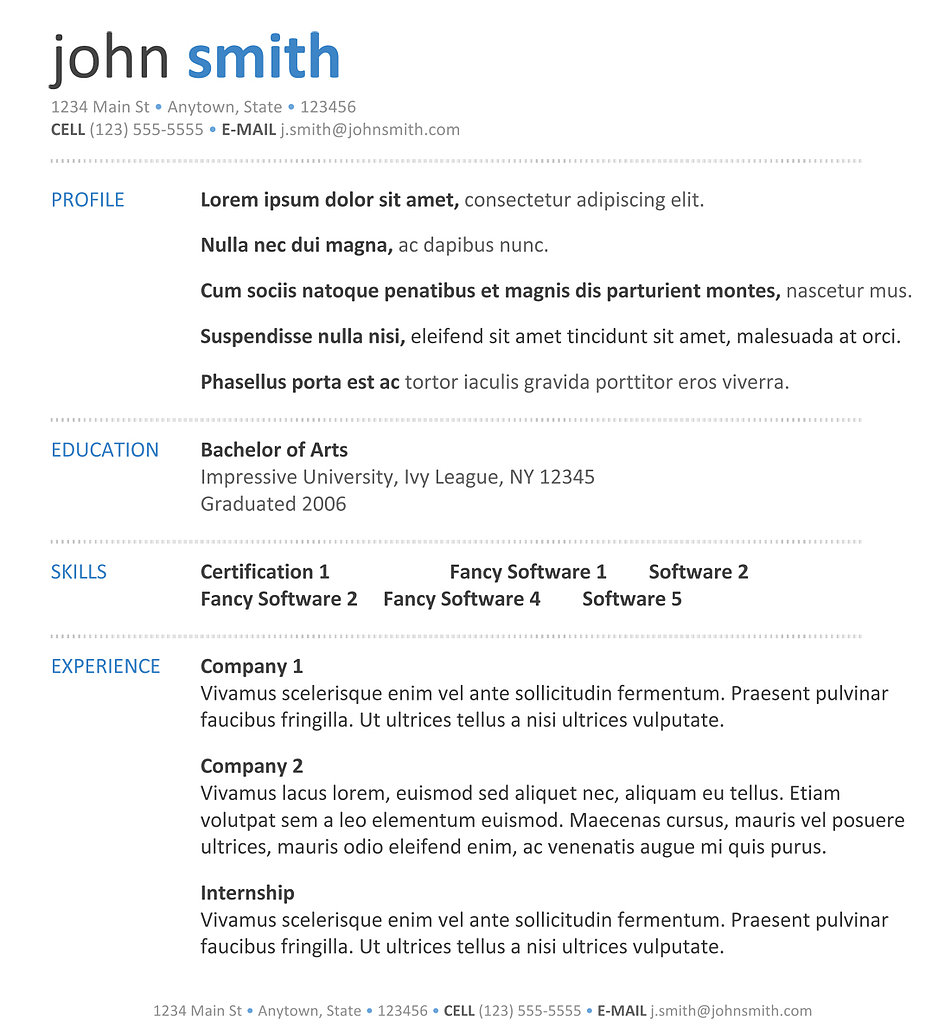 resume format 2014 resume template word cv resume template cv