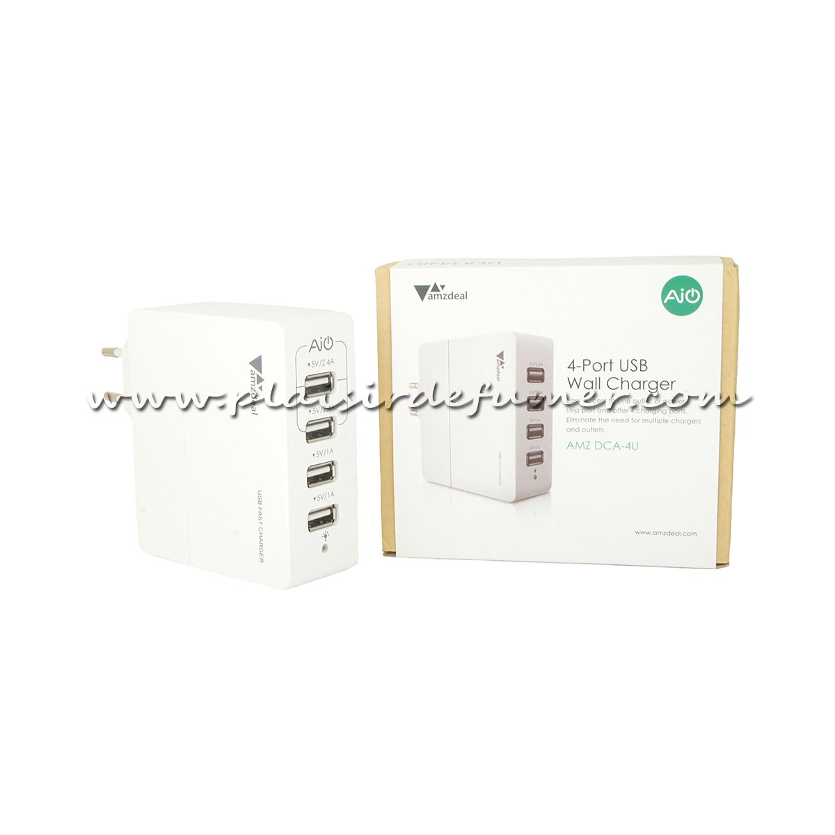 Chargeur Mural Usb 4 Ports