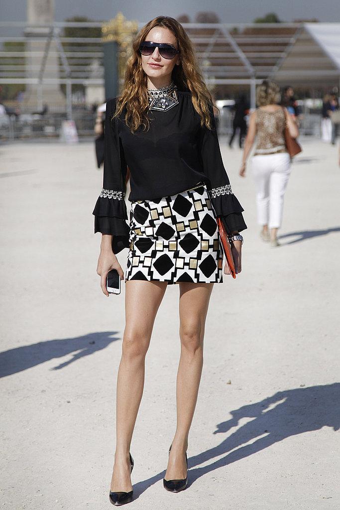 Spring 2012 Paris Fashion Week Street Style Day 1