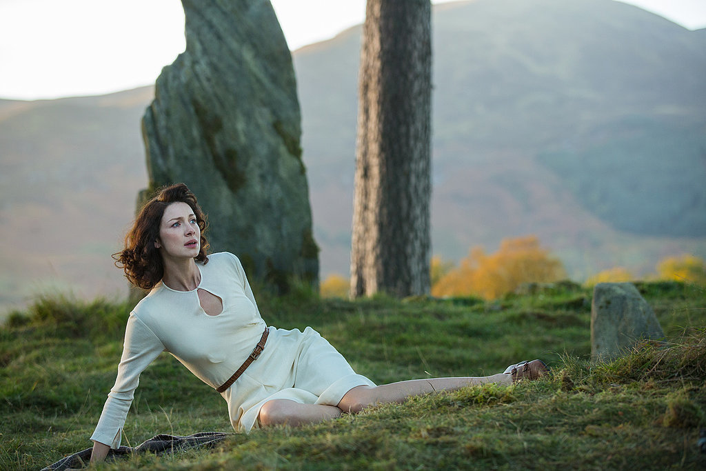 Caitriona Balfe as Claire Beauchamp Randal in Outlander