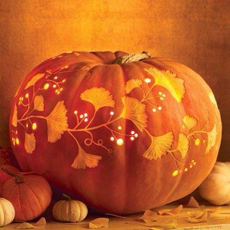 Gingko Leaf Pumpkin