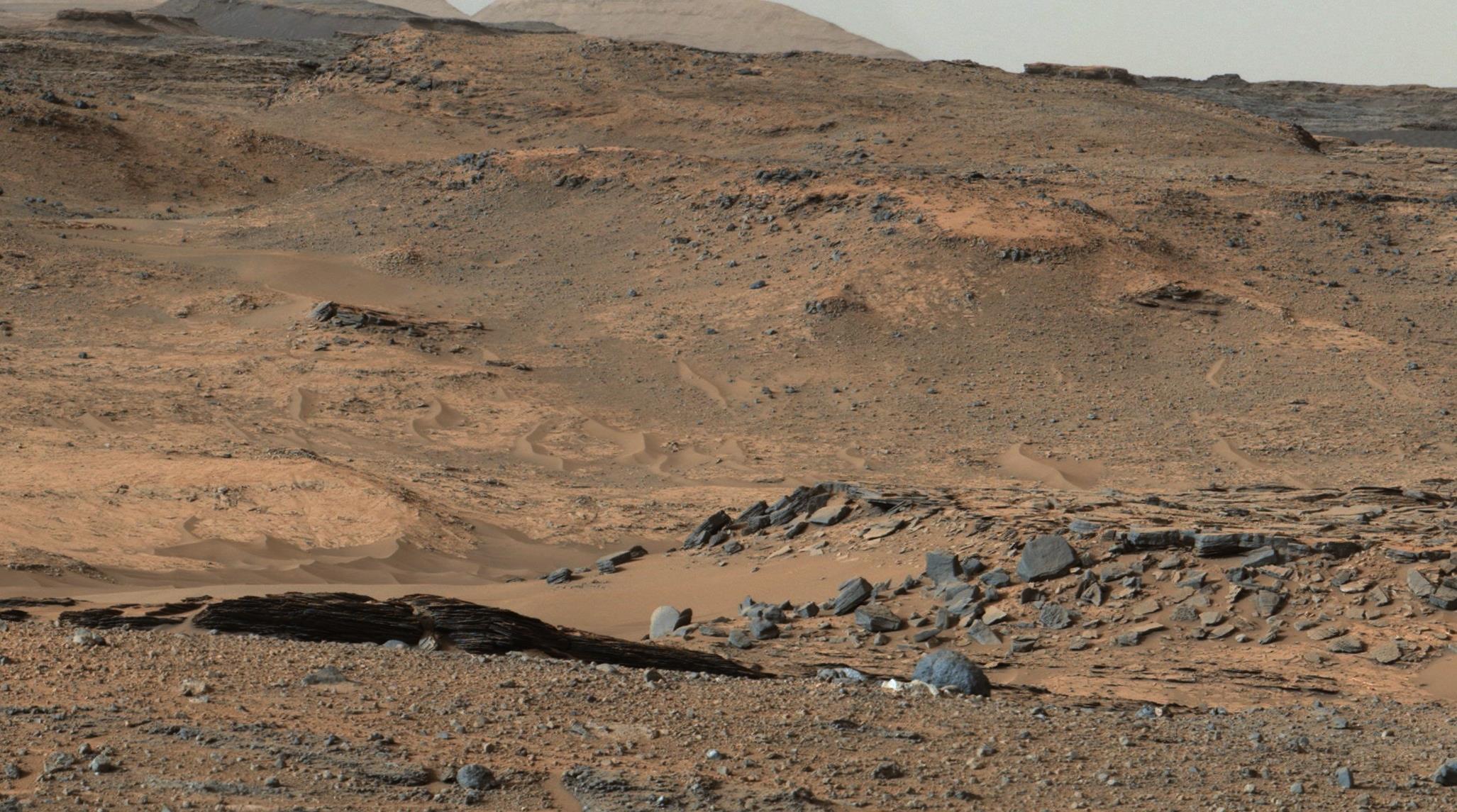 Mars Curiosity Rover Reaches Its Prime Destination Mount Sharp