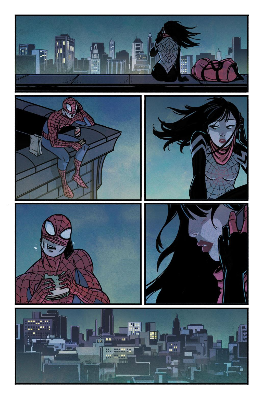 Marvel's new series tells the story of Cindy Moon and her crime-fighting, alter-ego named Silk.