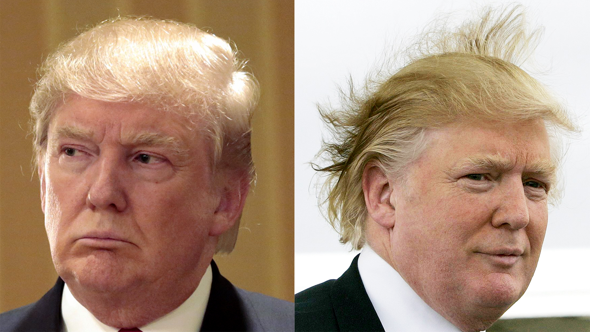 Donald Trumps Hair Defended And Explained In His Own