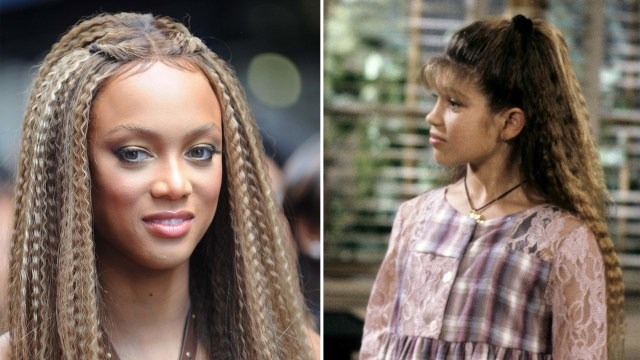 crimped hair is making a comeback: see the look then and now