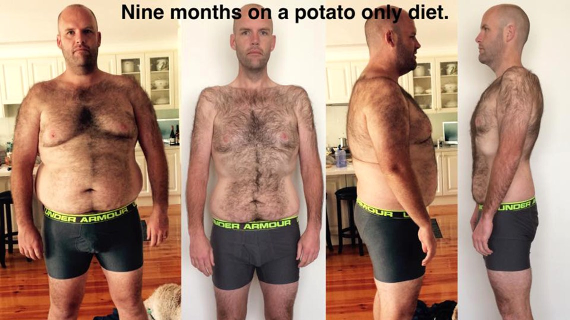Spud Fit: Man loses weight eating only potatoes for a year ...