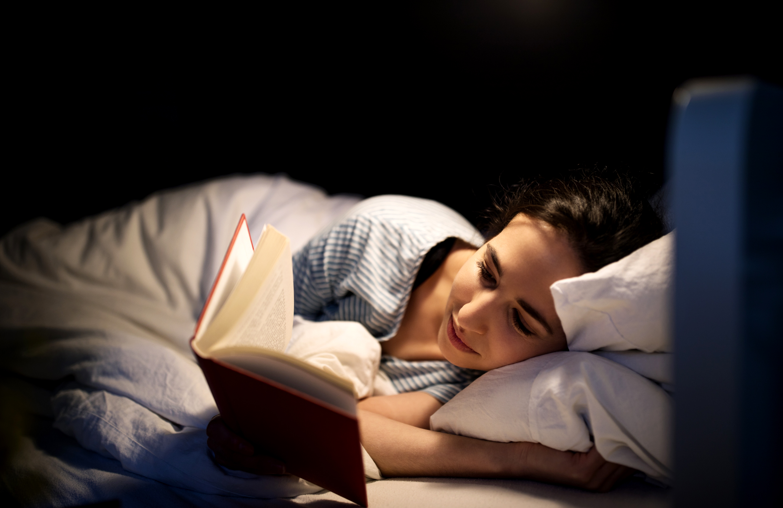Back to basics: How instituting a nightly reading ritual has become my  favorite stress reliever