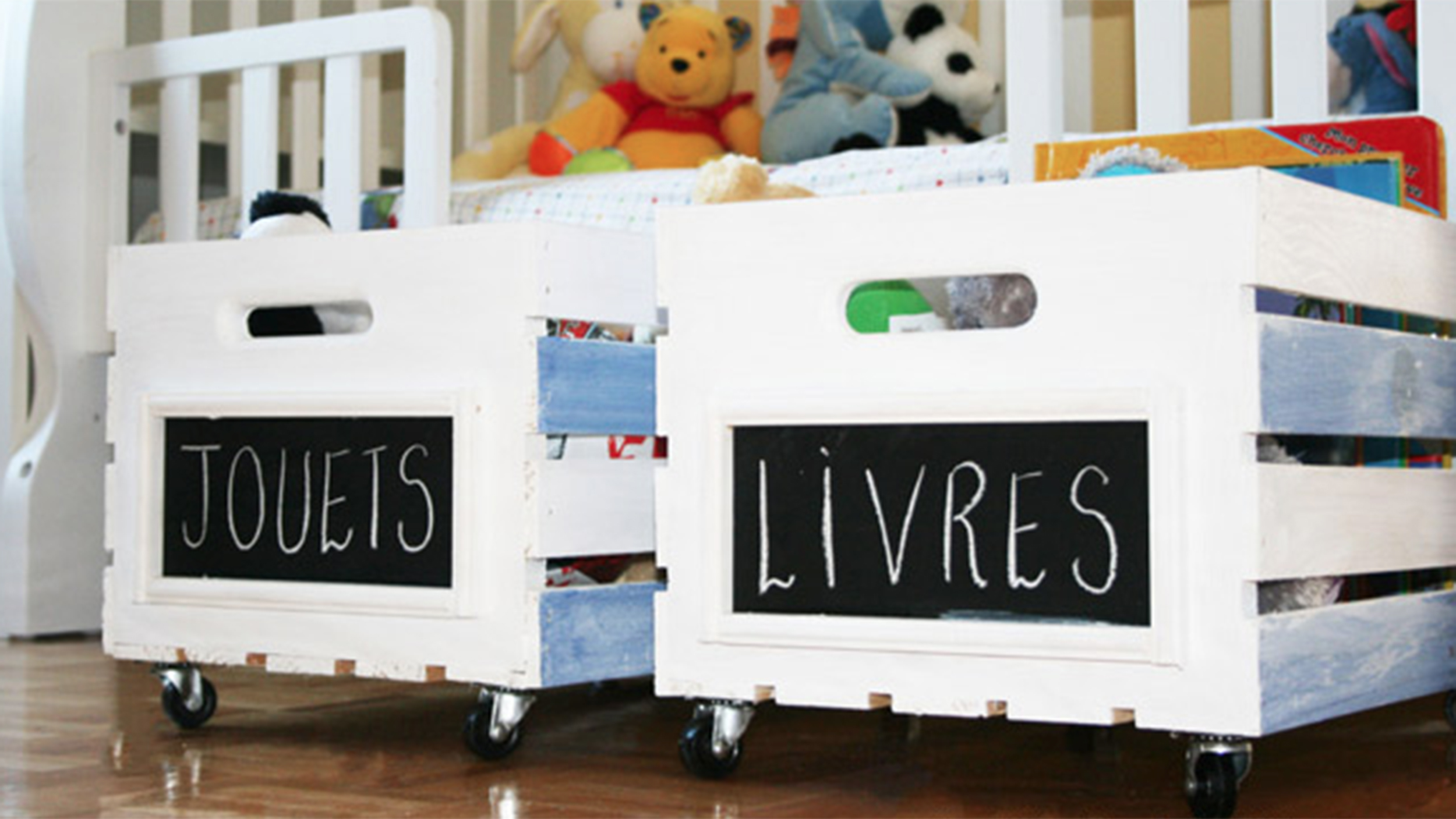 Hide The Mess With Style: 9 Creative D-I-Y Toy Storage