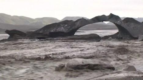 Haulp, ledakan banjir dahsyat akibat gletser bawah yang mencair