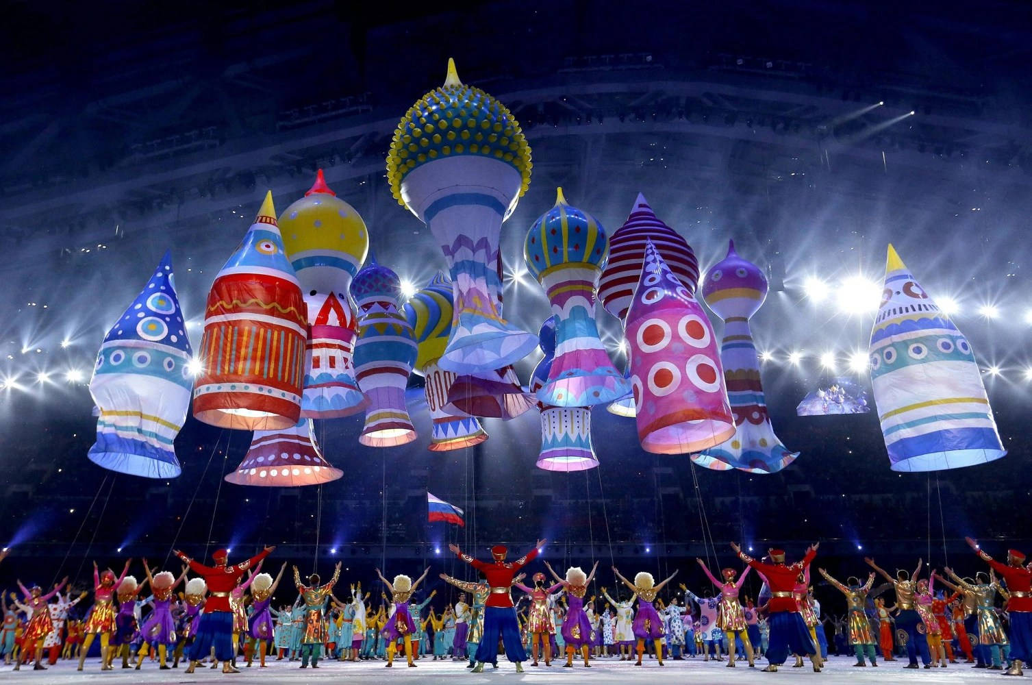 One Big Party In Sochi Opening Ceremony Performances