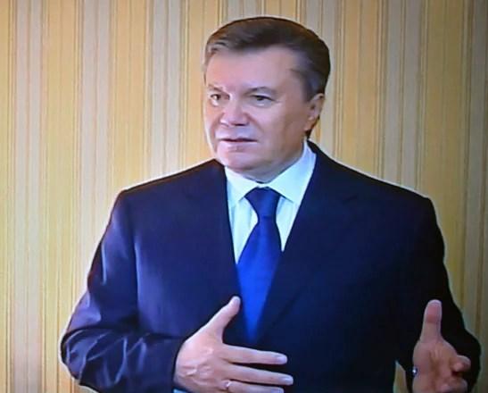Image: UKRAINE-UNREST-EU-RUSSIA-POLITICS-YANUKOVYCH