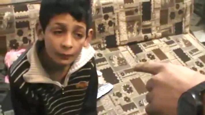 Image: Still from video provided by Israeli human rights organization B'Tselem