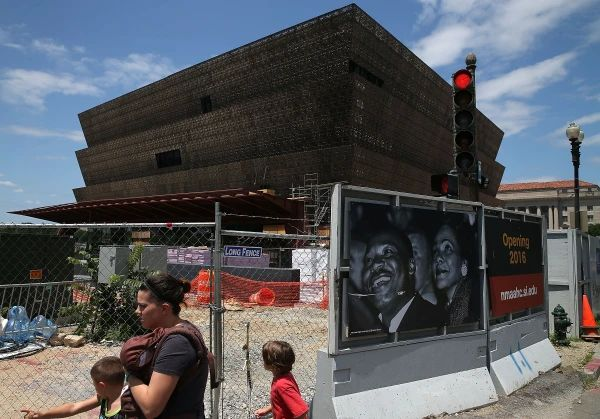 Construction Continues On The National Museum of African American History To Open In 2016
