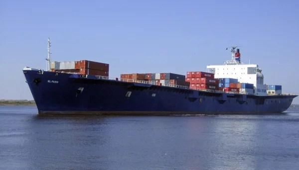 Image: Cargo ship El Faro missing in Hurricane Joaquin