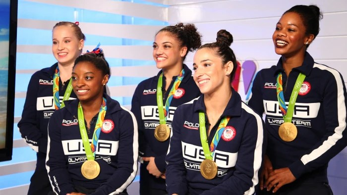 US women's gymnastics team wins gold in Rio