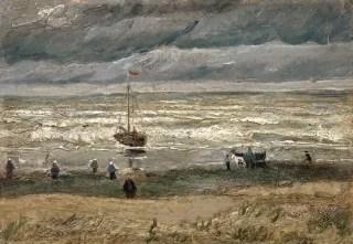 "Image: ""View of the Sea at Scheveningen"""