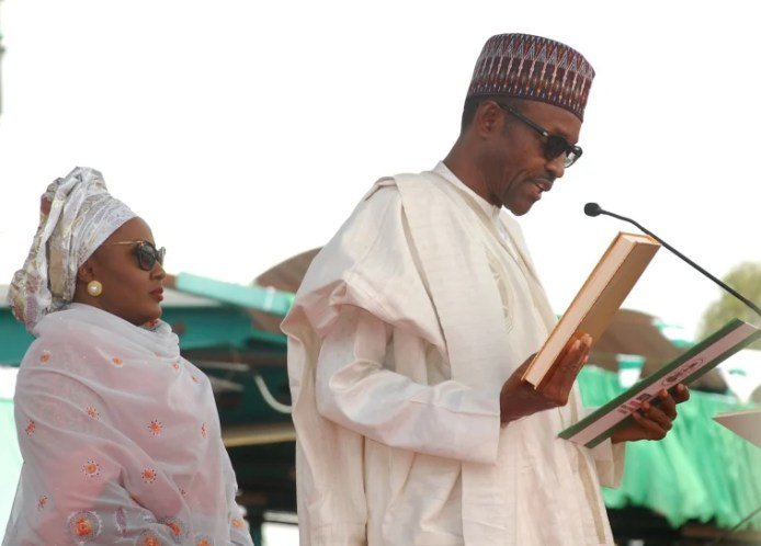 Image result for Aisha Buhari  AISHAT BUHARI 'FINALLY' ACKNOWLEDGES MASSIVE CORRUPTION UNDER HER HUSBAND'S WATCH 161014 aisha buhari cr 0649 01 a1a726db3679dda67903020329d60959
