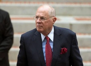 Image: U.S. Supreme Court Associate Justice Anthony Kennedy arrives to attend the 64th Annual Red Mass at the Cathedral of St. Matthew the Apostle in Washington