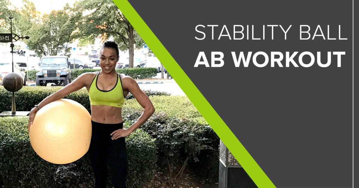 Abdominal Stretches Ball
