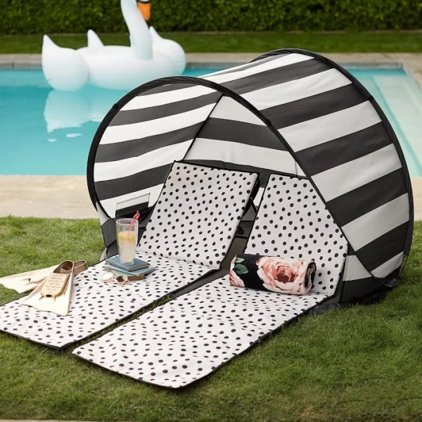 Pottery Barn Kids Beach tent and lounger Jill's Steals and Deals