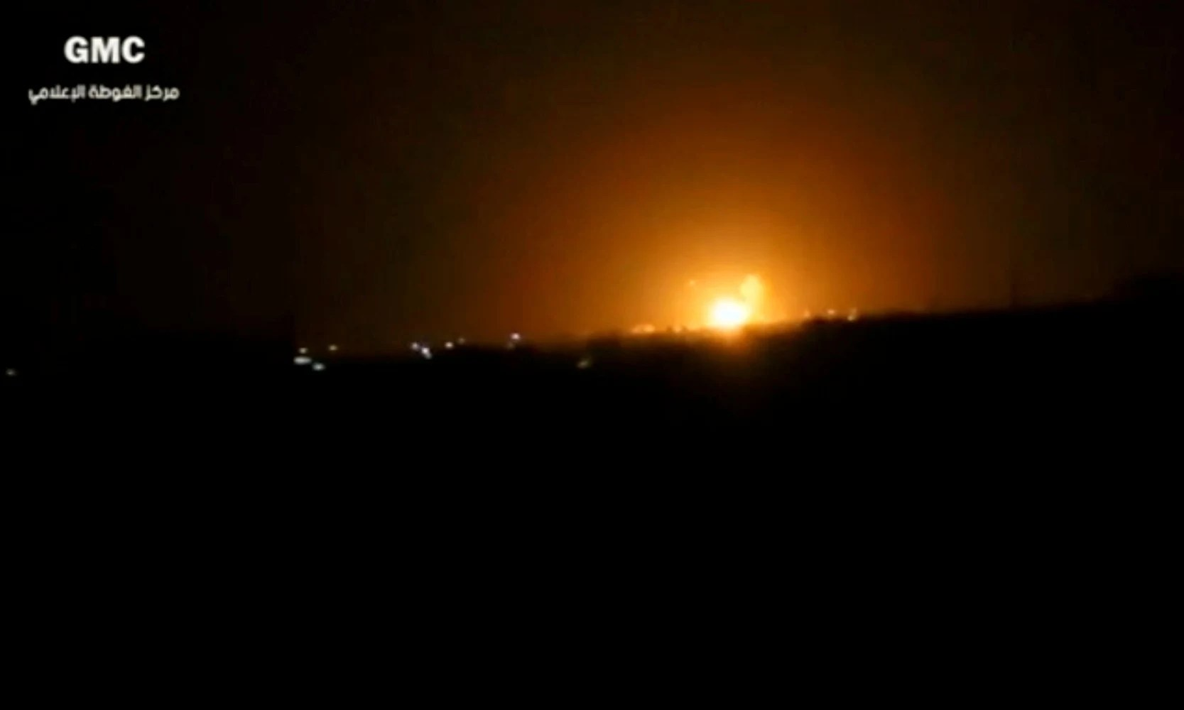 Syria accuses Israel of bombing outpost near Damascus