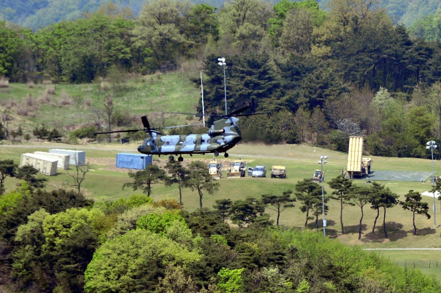Seoul: THAAD can defend against North Korean missiles