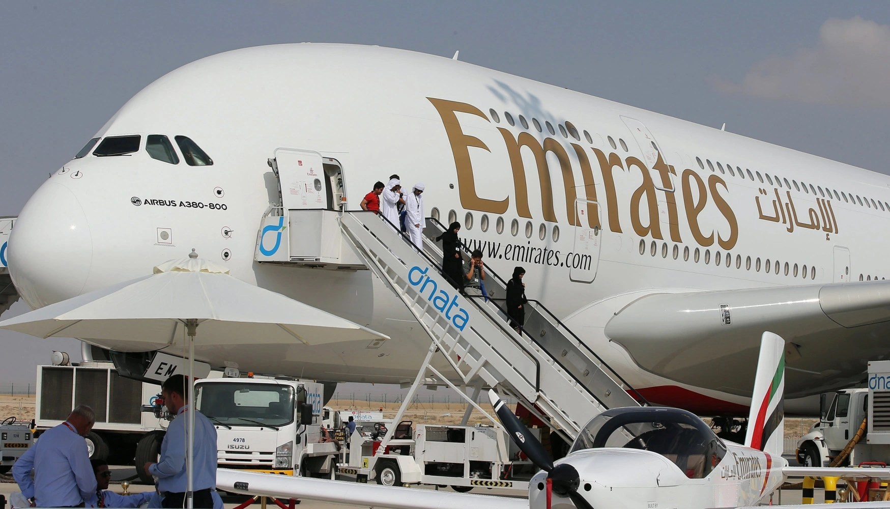 Emirates profits fall 70 per cent