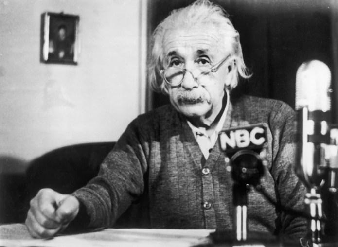 Image: Albert Einstein in 1950
