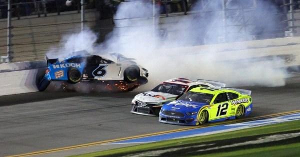 Ryan Newman hospitalized after fiery crash at Daytona 500