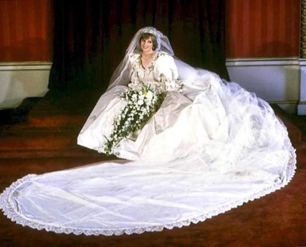 Image result for princess diana wedding dress