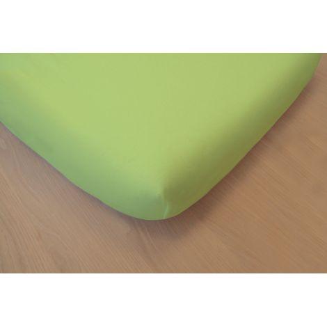 drap housse en coton bio pour lit bebe 60x120 cm