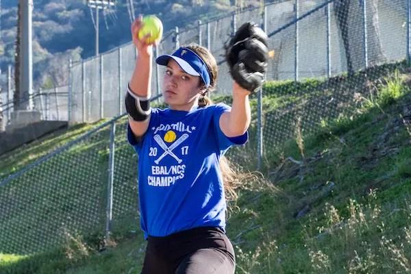 Nicole May, Foothill, Softball