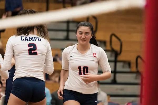 Aubrey Pak, Campoilndo volleyball