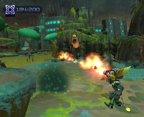 Image result for ratchet and clank 2 locked and loaded