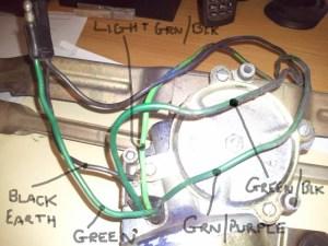 Help Wanted: Mk1 Escort Wiper Motor Wires
