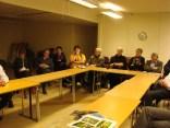 En del av de intresserade åhörarna ----------- foto Ylva Johansson