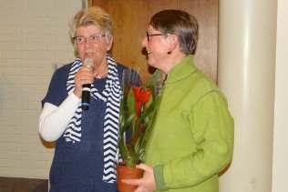 Ann-Christin Rönnbäck avtackas