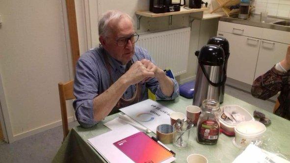 Kursledaren Lennart Urby