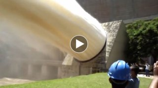 Enjoy the Wild Beauty of Emergency Water Discharges from the Dams