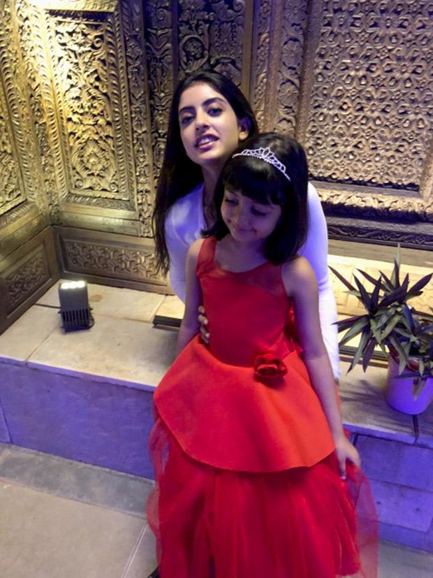 CUTE! Amitabh Bachchan rang in the New Year with granddaughters Aaradhya Bachchan and Navya Naveli Nanda (4)