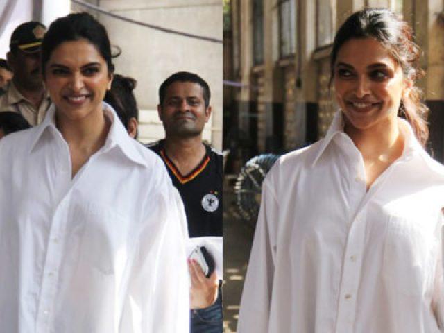 Deepika Padukone VOTES for Lok Sabha Elections 2019 - Bollywood Hungama