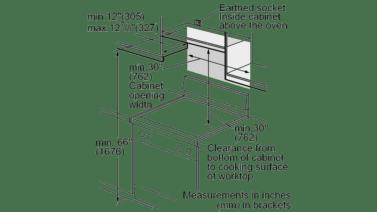 bosch hmv3053u over the range microwave