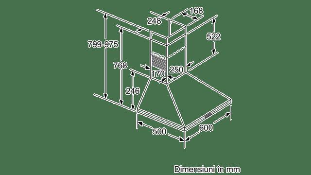 Image result for Hota incorporabila decorativa Bosch DWP64BC50