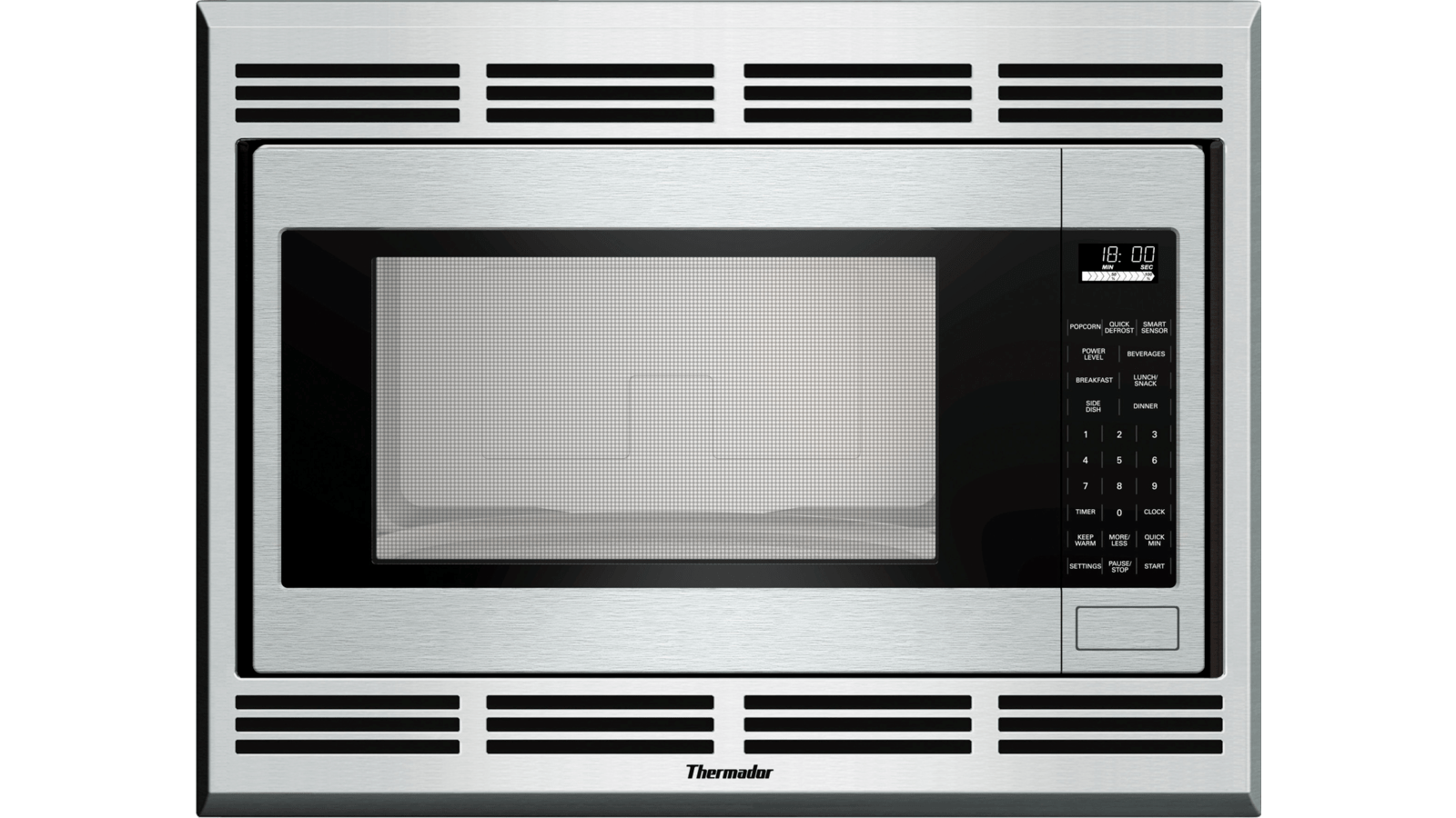 thermador mbes built in microwave oven