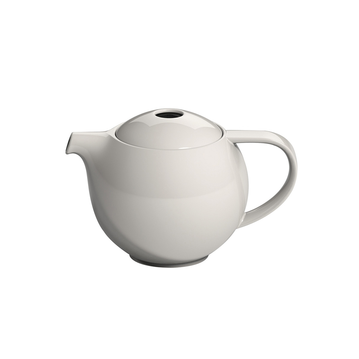 theiere ronde porcelaine loveramics creme 0 9l