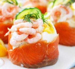 Swedish Salmon & Seafood Pastry at Cajutan in Bangkok