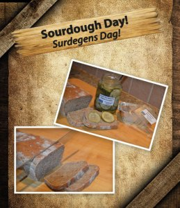 We celebrate Sourdough bread day at Cajutan in Bangkok