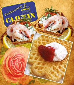 Waffle Day at Cajutan in Bangkok